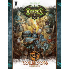 Trollbloods Command en anglais (Hard cover)