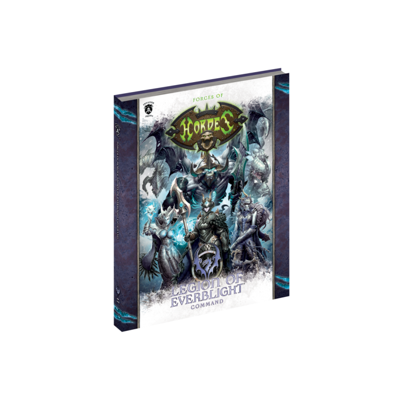 Legion of Everblight Command en anglais (Hard cover)