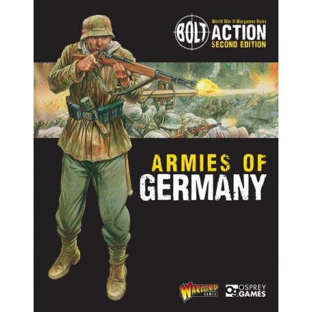 Armies of Germany 2nd Edition, bolt Action, par Warlord Games