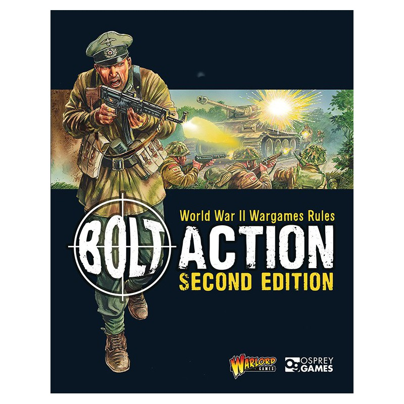 Bolt Action 2nd Edition Rulebook, par Warlord Games