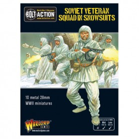 Soviet Veteran Squad in Snowsuits