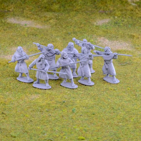 Pict/Scots Spearmen attacking