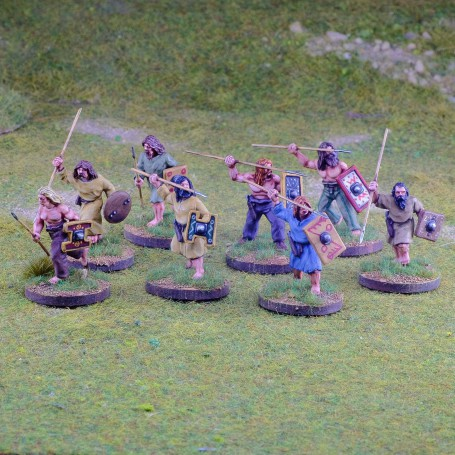 Pict/Scots Warriors with Javelins