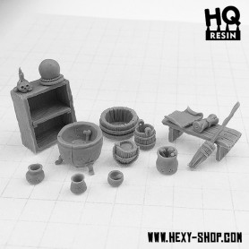 Witch House Basing Kit
