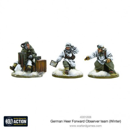German Heer Forward Observer team (Winter)