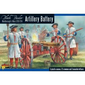 Marlborough's Wars: Artillery battery