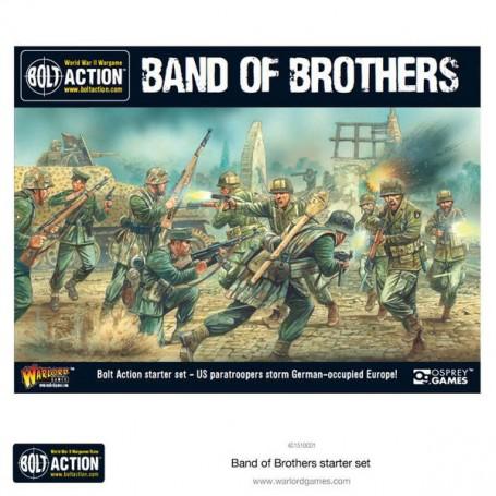 "Bolt Action 2 Starter Set - ""Band of Brothers""rte, par Warlord Gamest"