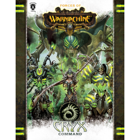 Cryx Command en anglais (Hard cover)