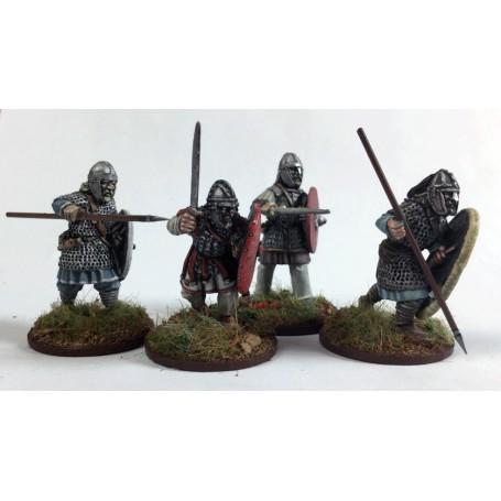 Gardes Britons à pied