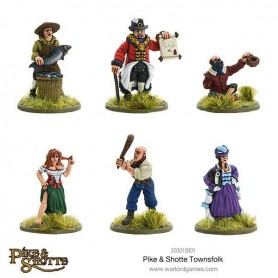 Pike & Shotte Townsfolk