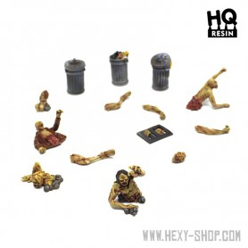Zombies of Hard City Set