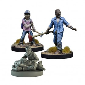 The Walking Dead, Booster Lee & Clementine