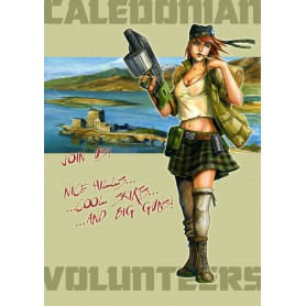 Caledonian army en 300 pts format ITS