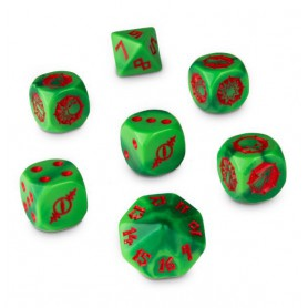 Cube de Dés du Gouged Eye de Blood Bowl