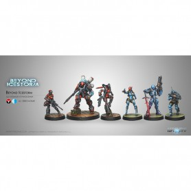 Beyond Icestorm Pack d'Expansion avec A. Bounty Hunter en figurine exclusive