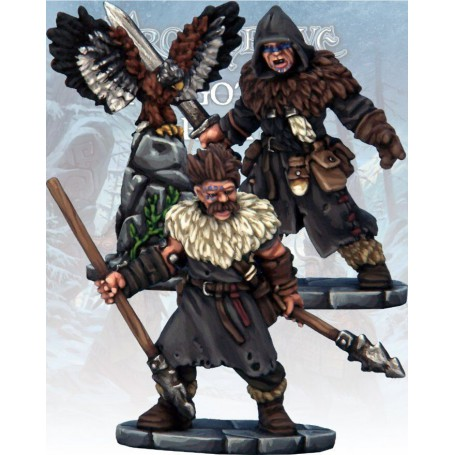 Maître des corbeaux et javelinier Barbares