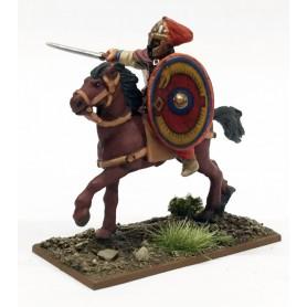 Seigneur Romain à cheval
