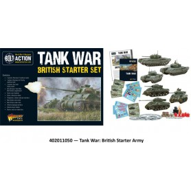 Tank War British starter set
