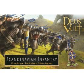 Scandinavian Infantry (25-Foot Figurines Plastiques)