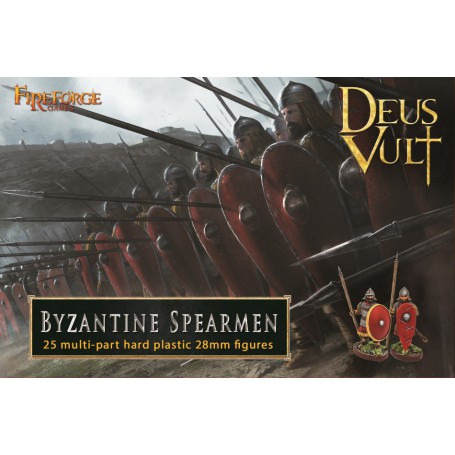 Byzantine Spearmen (25-Foot Figurines Plastiques)