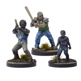 The Walking Dead, Booster Morgan, pere desesperé