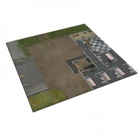 The Walking Dead, Tapis de luxe : La Prison