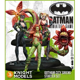 GOTHAM CITY SIRENS STARTER SET V2