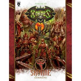 Skorne Command Book en anglais (Hard cover)