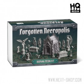 Forgotten Metropolis Diorama Resin Kit