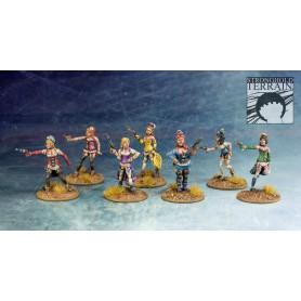 Les 7 Gracieuses (7 figurines)