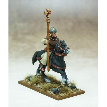 Prêtre Chrétien à cheval