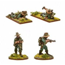 Chindit Flamethrower & Light mortar teams