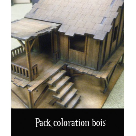 Pack coloration bois mdf