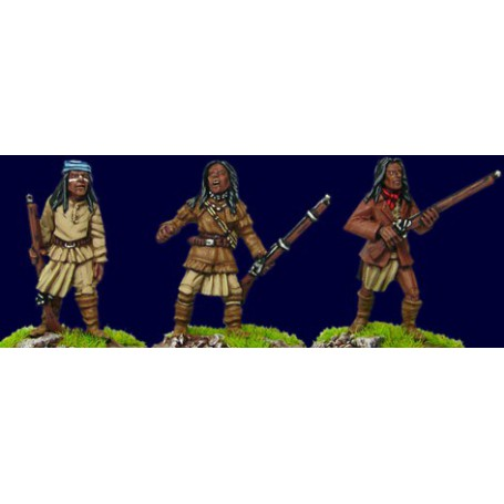 Apache with rifles