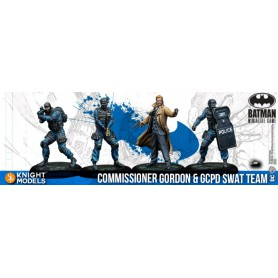 COMMISSIONER GORDON & GCPD SWAT TEAM V2