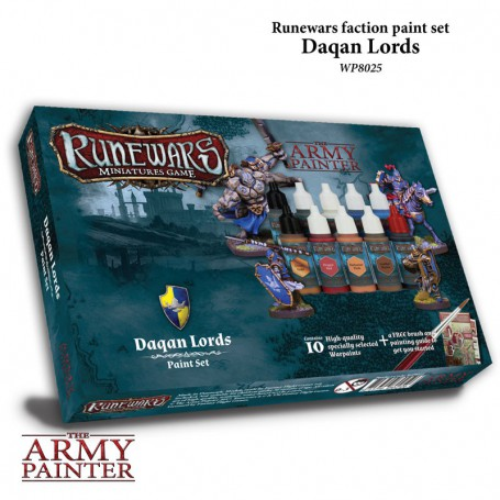 Runewars : Daqan Lords Paint Set