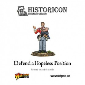 Defend a hopless position