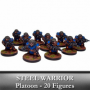 Forge Father Steel Warrior Platoon (20 figurines)