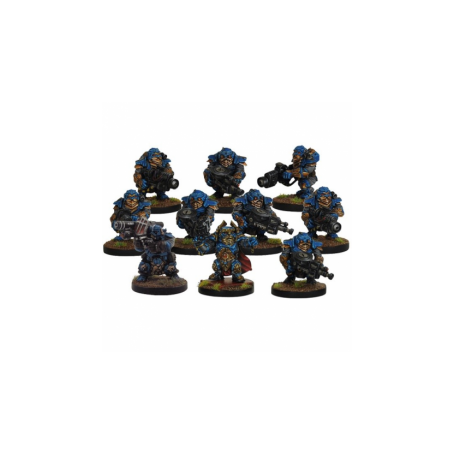 Forge Father Stormrage Veteran Section (10 figurines)