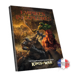 Uncharted Empires book  (en anglais, extension Kings of War )