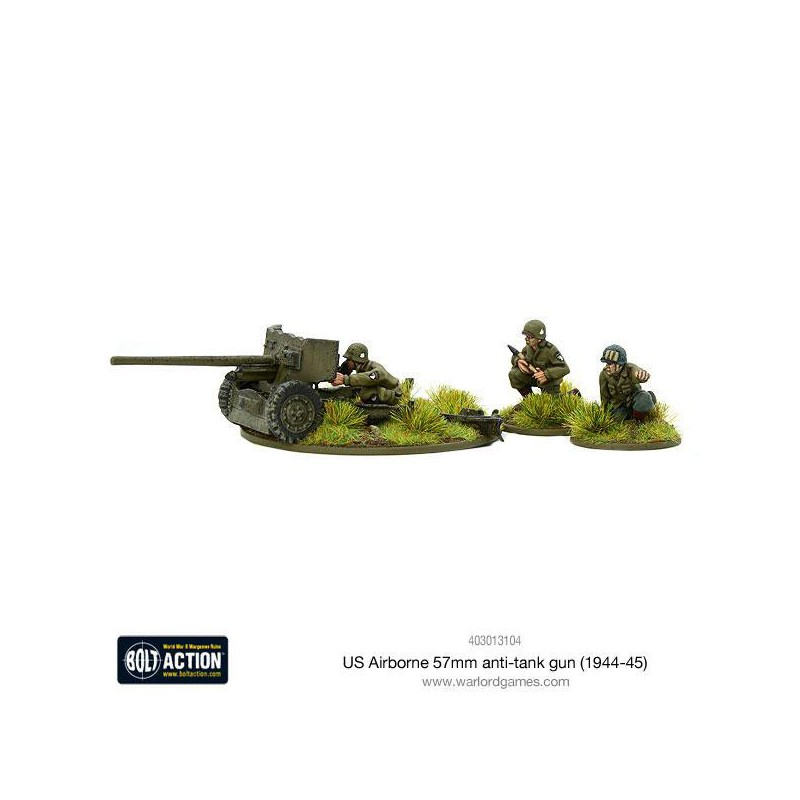 - 28mm Bolt Action 1944-45 US Airborne medium mortar team Warlord Games