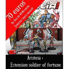Aristéia Le jeu de plateau VF + extension Soldiers of fortune