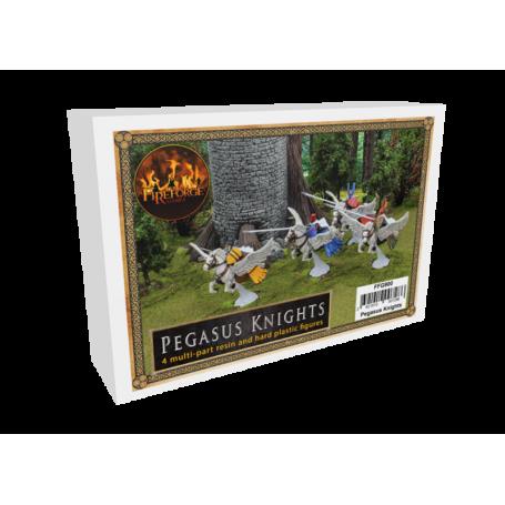 Chevaliers d'Albion sur pégases (résine et plastique x3)