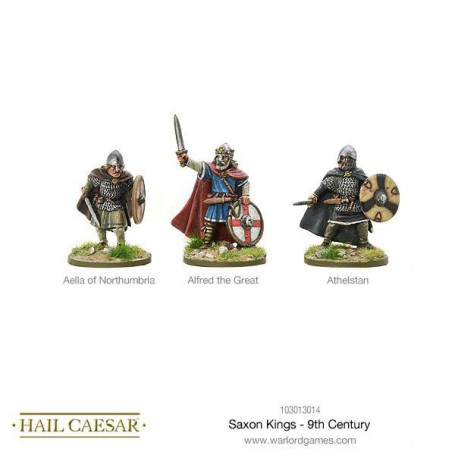 Saxon Kings - 9th Century
