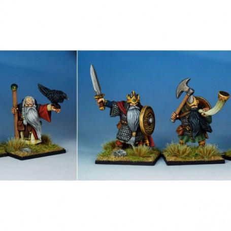 Oathmark Dwarf King, Wizard & Musician