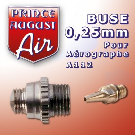 Buse 0.25mm  pour aérographe A112