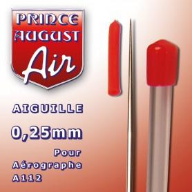 Aiguille 0.25mm pour aérographe A112