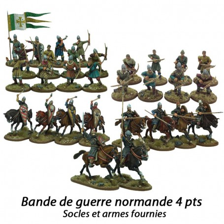 Norman complete warband 4 pt