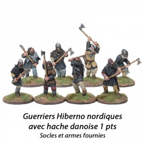 Hiberno norses complete Warriors with dane axe