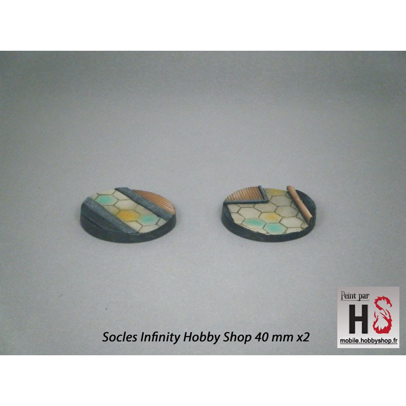 Infinity Hobby Shop Bases, Round 40mm (2)